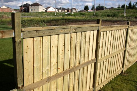 Llansannan Fence Installation