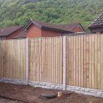 fencing Llansannan